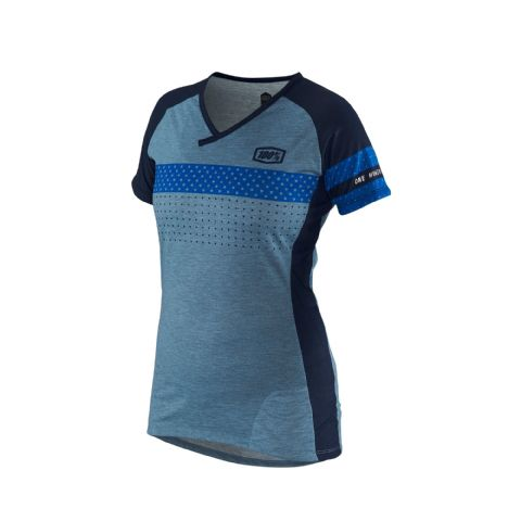 100% Airmatic Women's Jersey Blue